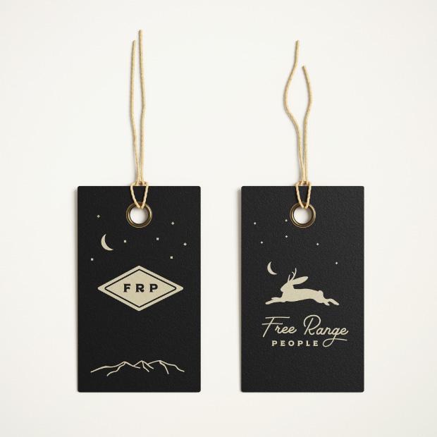 DesignGood Free Range People hang tags
