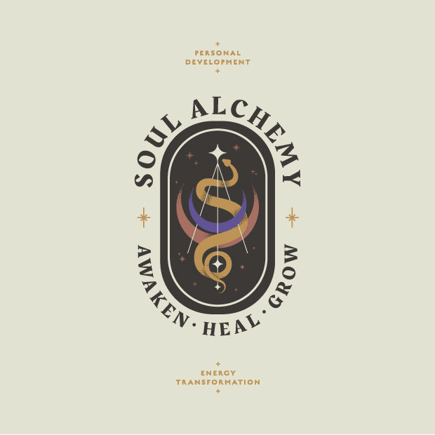 DesignGood Soul Alchemy logo and graphic