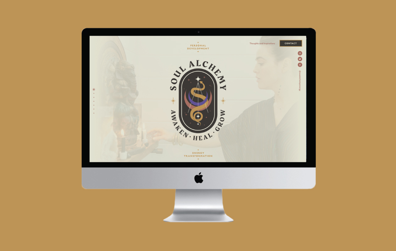DesignGood Soul Alchemy website