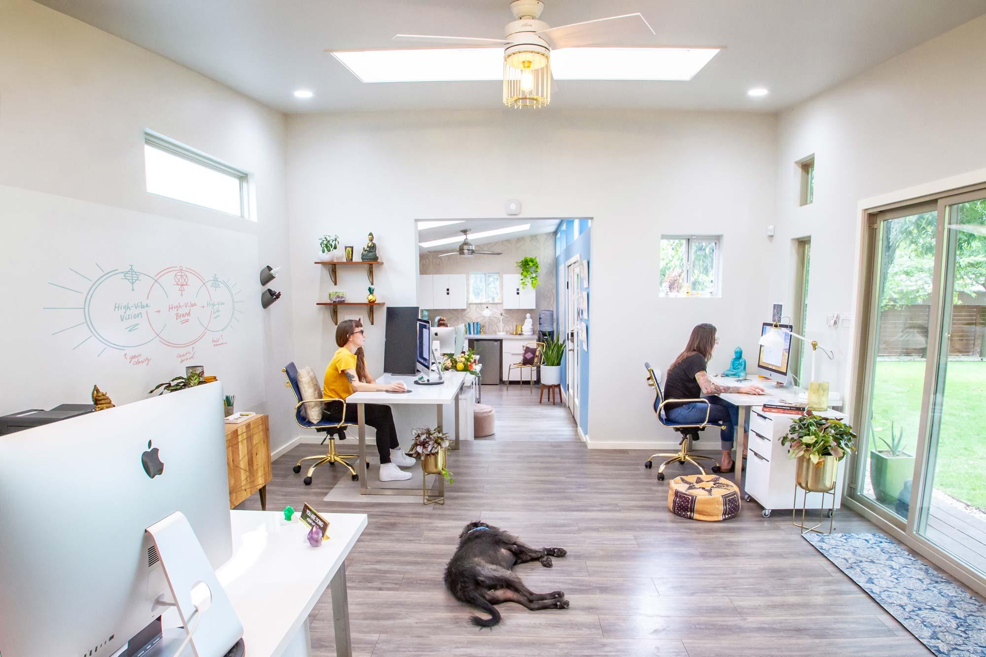 DesignGood HQ main room