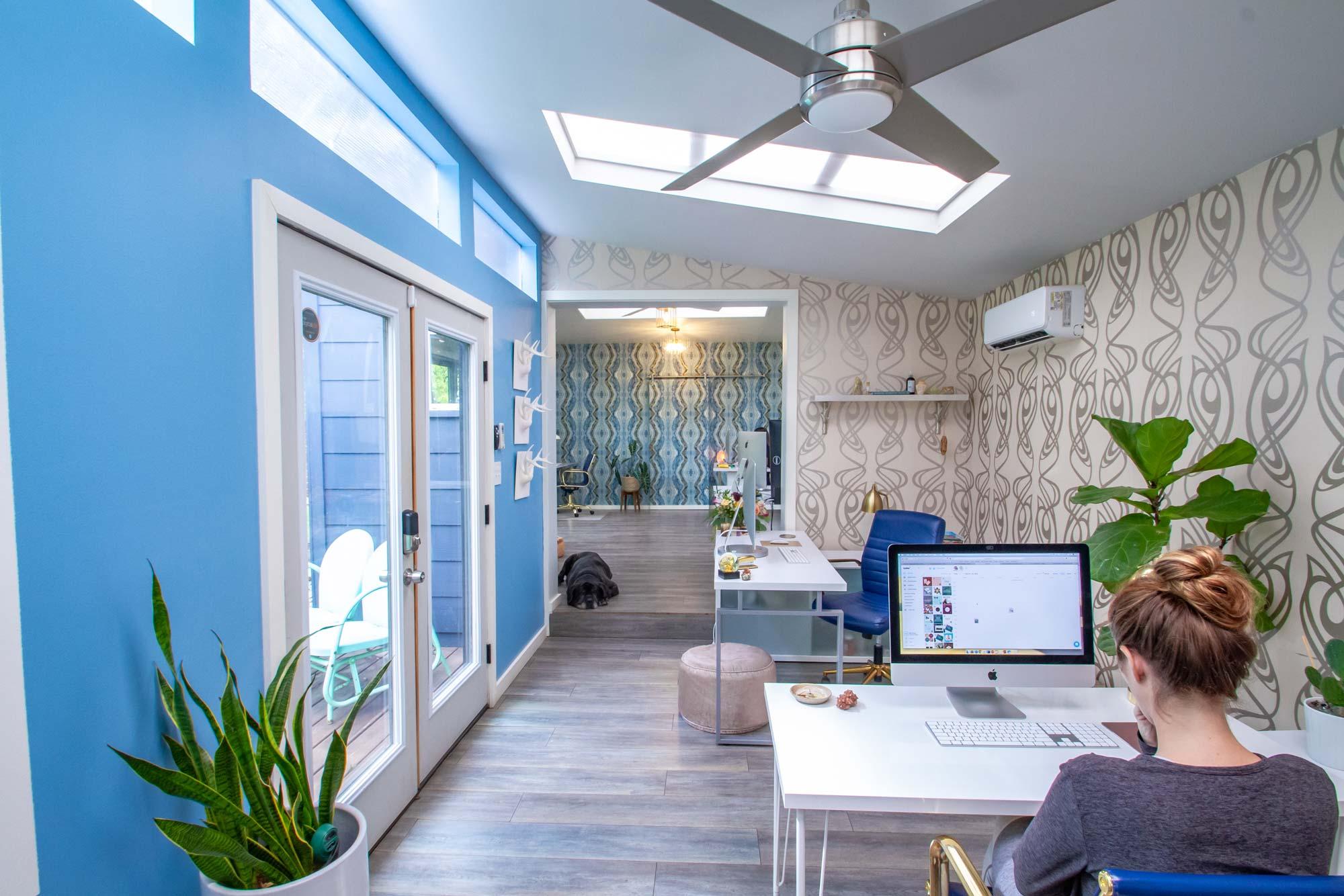 DesignGood HQ blue room