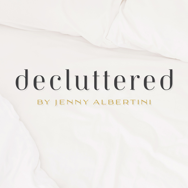 Decluttered by Jenny Albertini