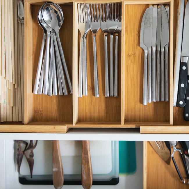 Decluttered-kitchen-organzation