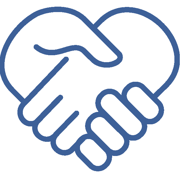 Health Coaching Hands Icon
