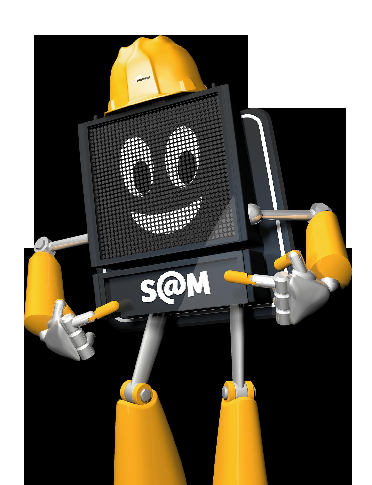 S@M 3D karakter ontwerp