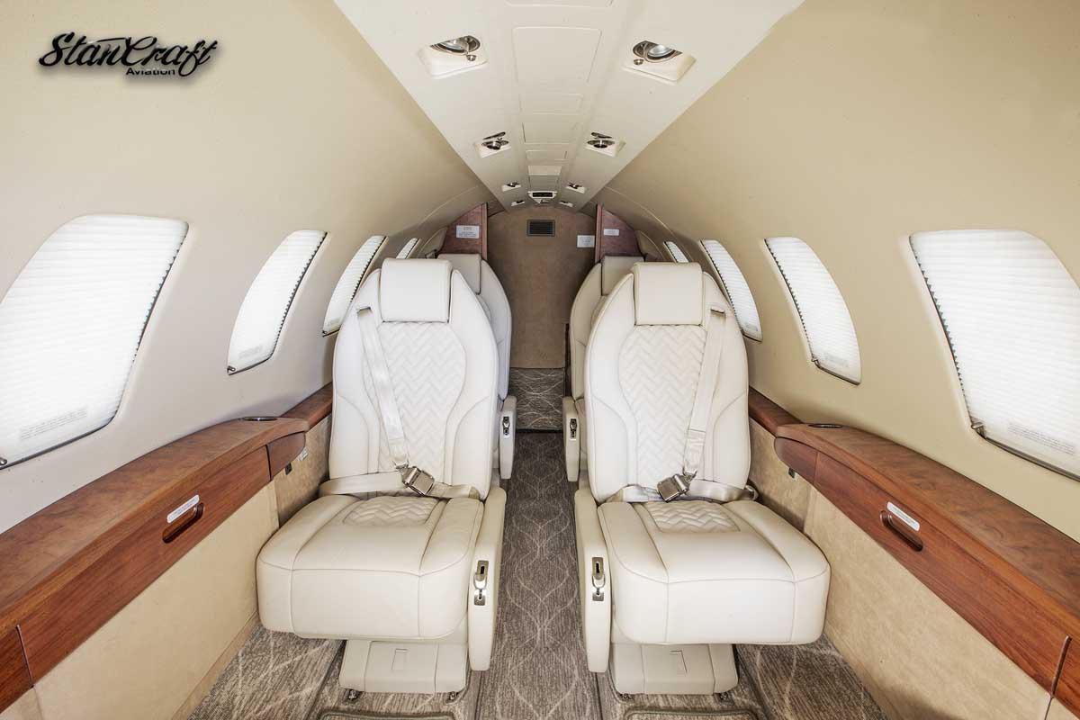 StanCraft custom private jet cabin