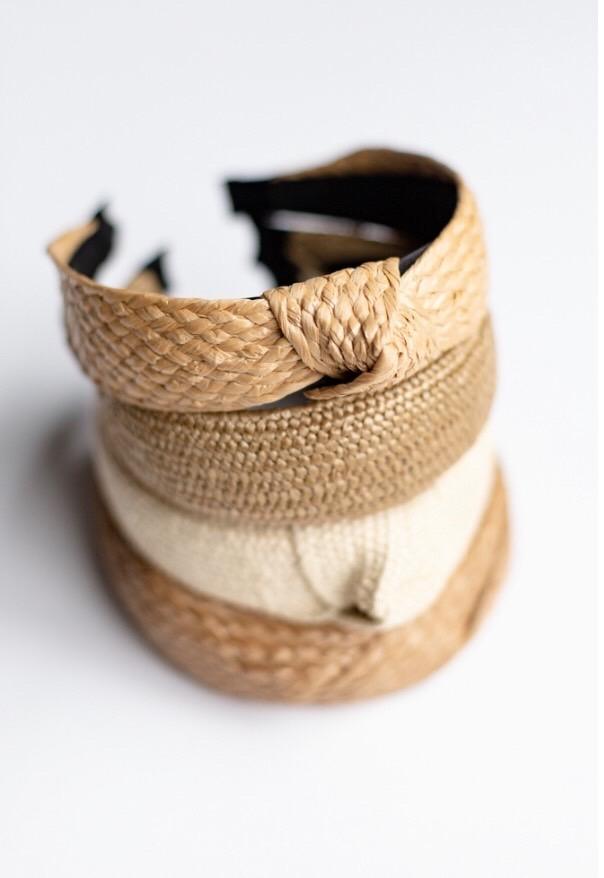 Assorted Straw Headbands