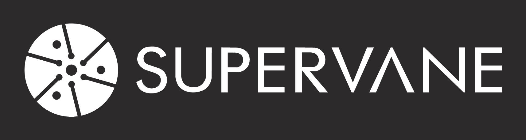A logo for Supervane Carbon Vanes