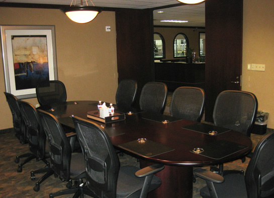 The Law Offices of Richard C. McConathy, Dallas-Fort Worth Office - Interior