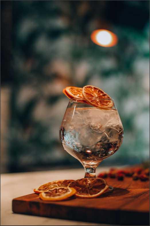 Cocktail avec gin québécois