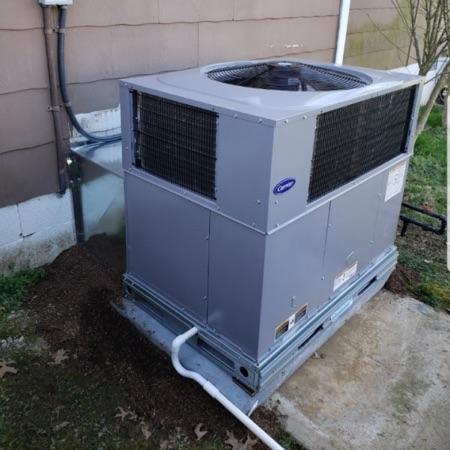 new carrier AC unit