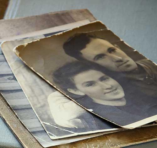 photo restoration button