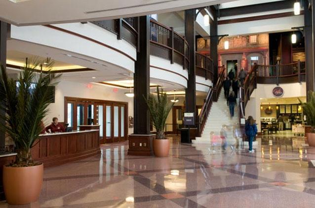 Hershey's Corporate Lobby