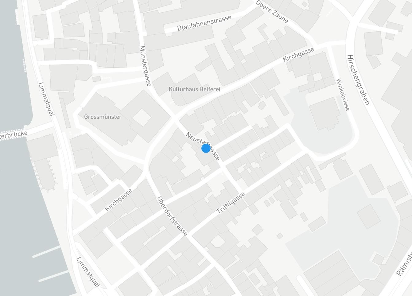 Google Maps Karte von Zürich