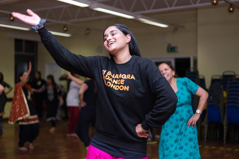 Bhangra Dance London - Fold Dance Workshops
