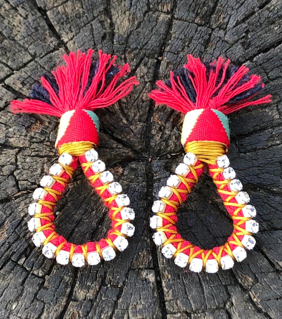 Firebird Earrings