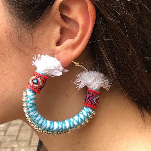 Apache Oversized Hoop Earrings