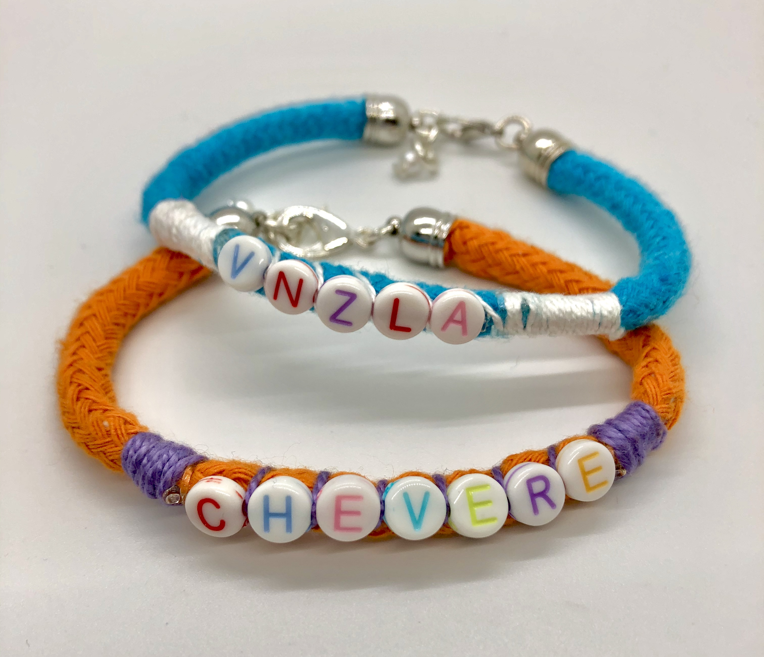 Venezuela Good Vibes Bracelets - Set of 2.