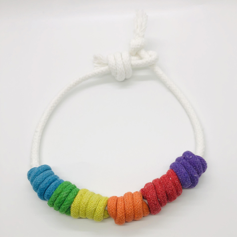 Chunky Rainbow Necklace