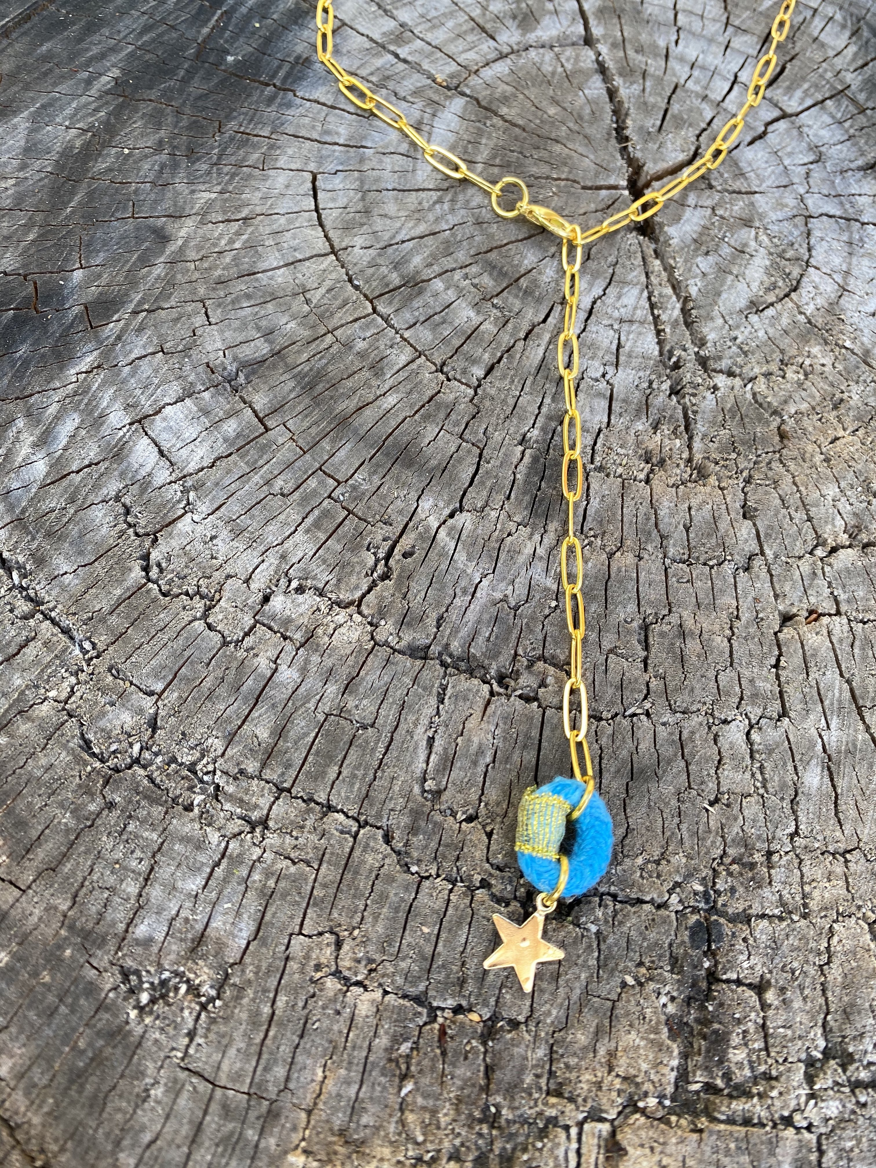 Froot Loop Pendant Chain Necklace