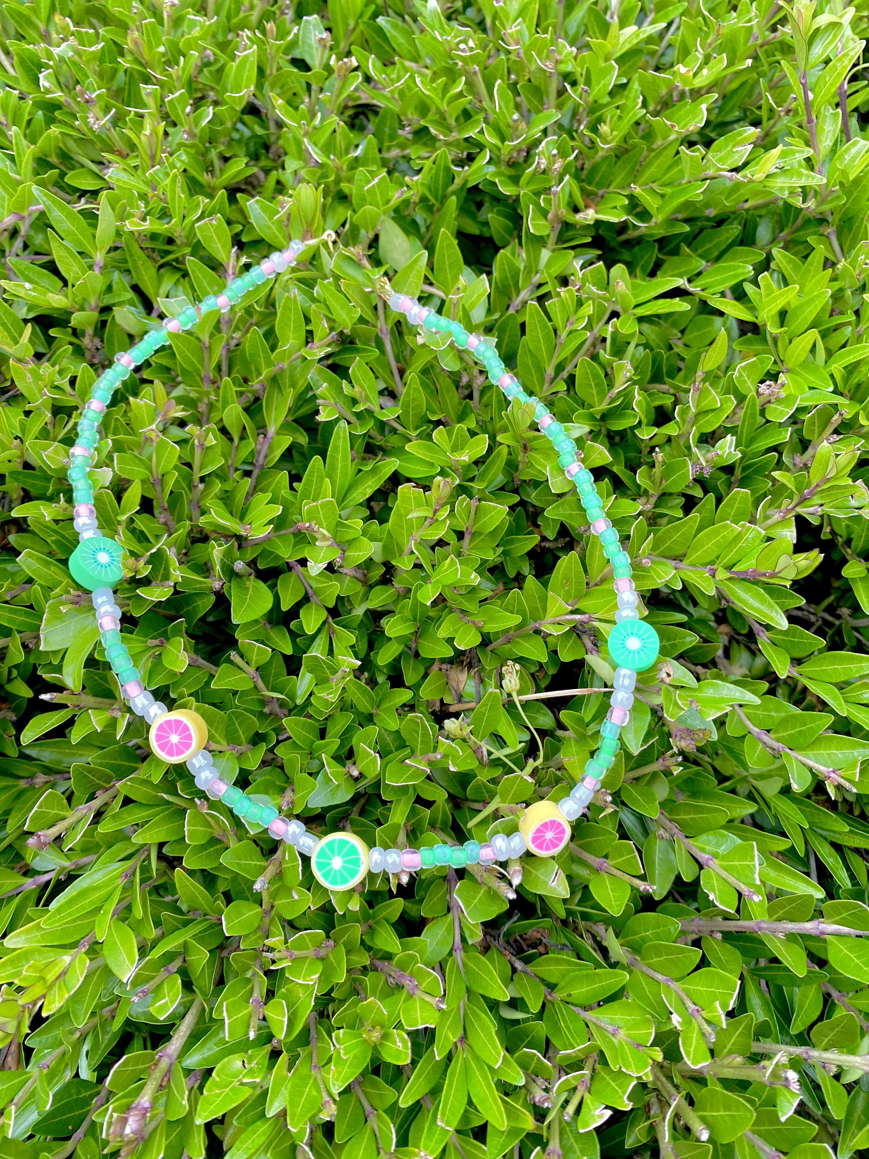 Summer Citrus Fruits Necklace