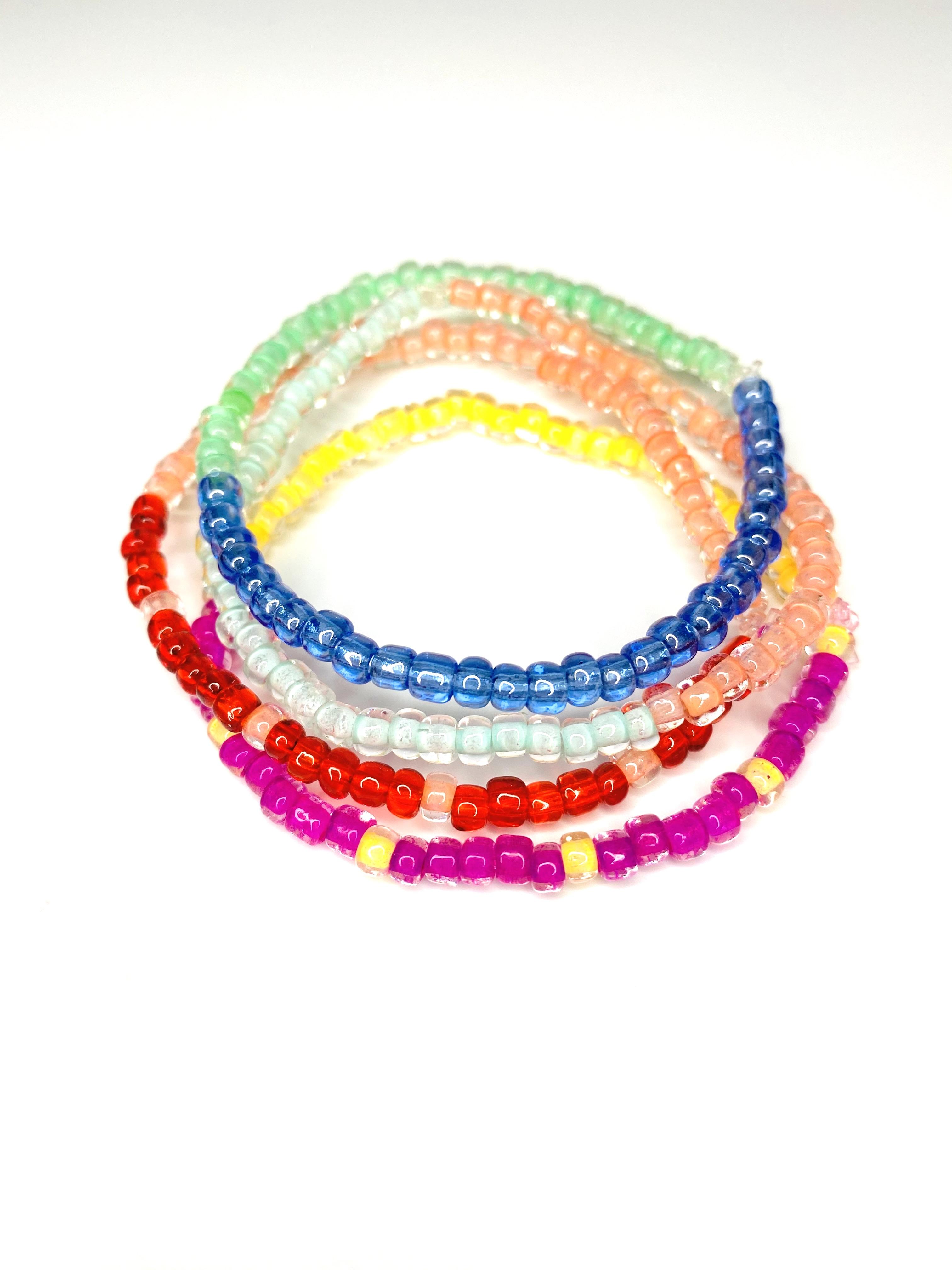 Beaded Bracelets - Set of 4