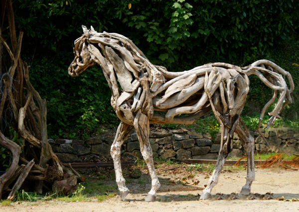 Heather Jansch, The Eden Horse. Muse The Sculpture Company