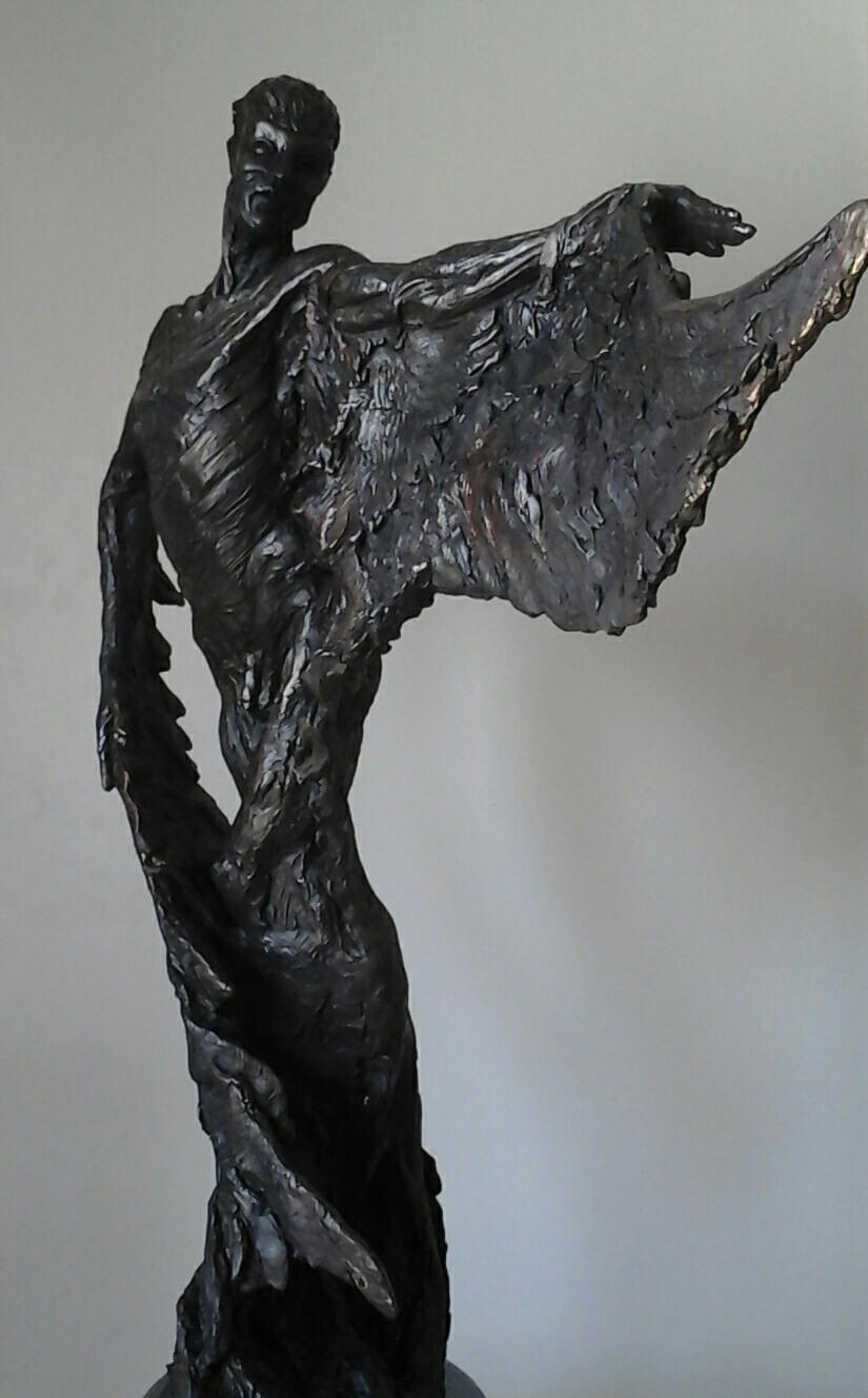 Stephen Winterburn, Icarus, at Muse. The Sculpture Company