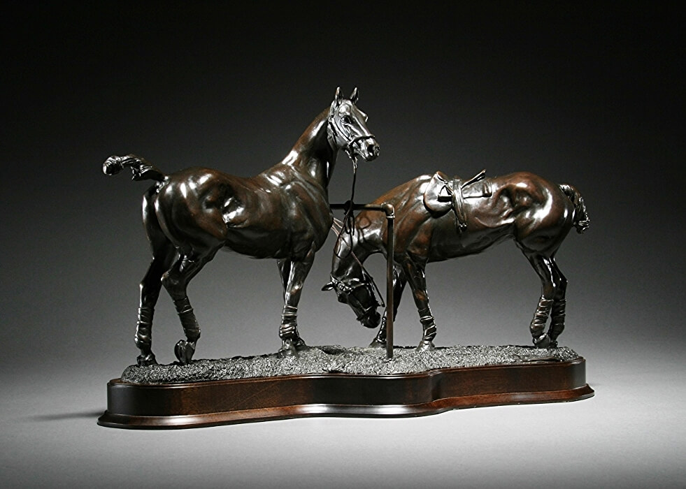 Gill Parker, Pony Lines, at Muse. The Sculpture Company