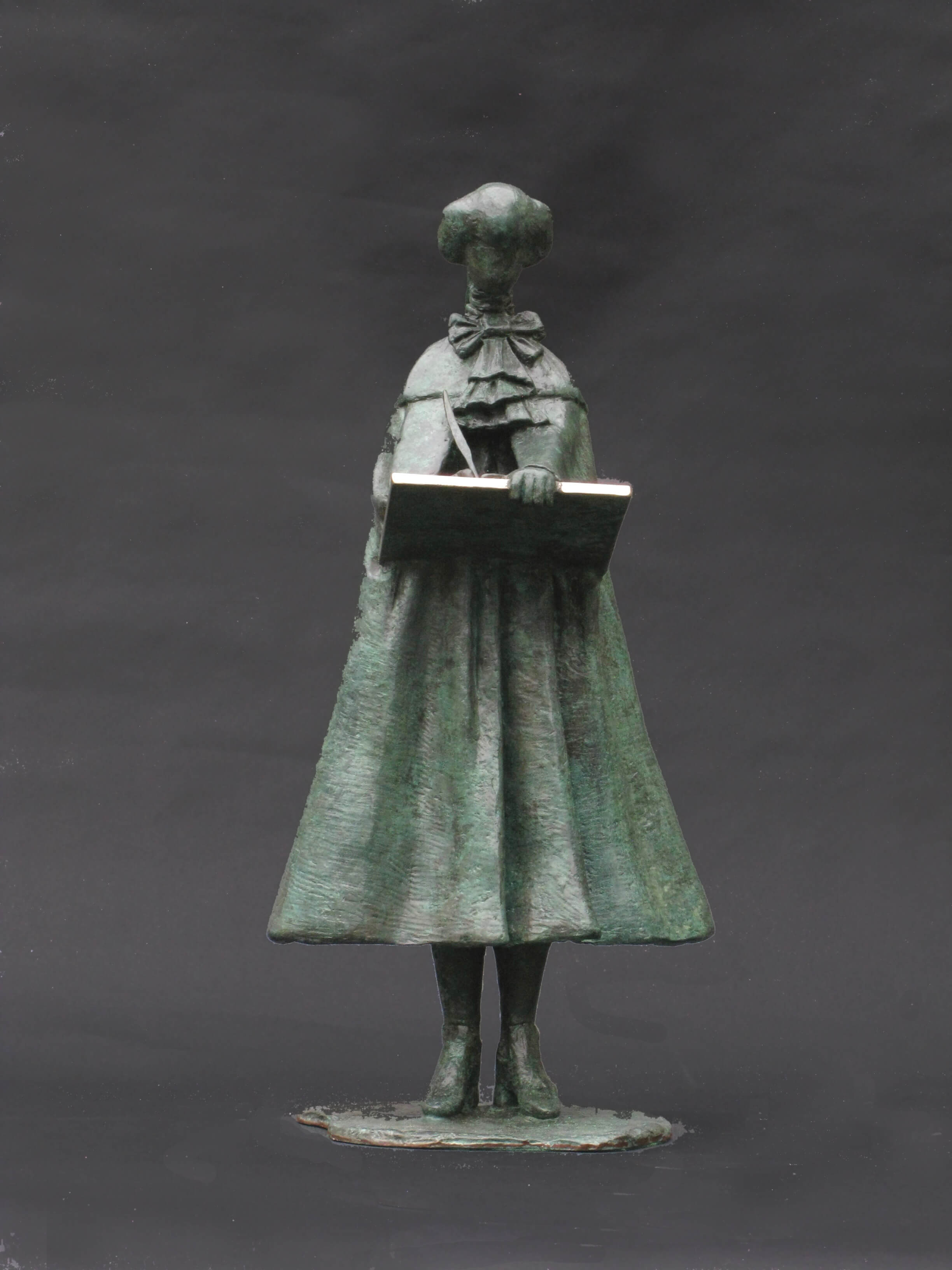 Contemplating Canoletto by Philip Jackson at Muse. The Sculpture Company