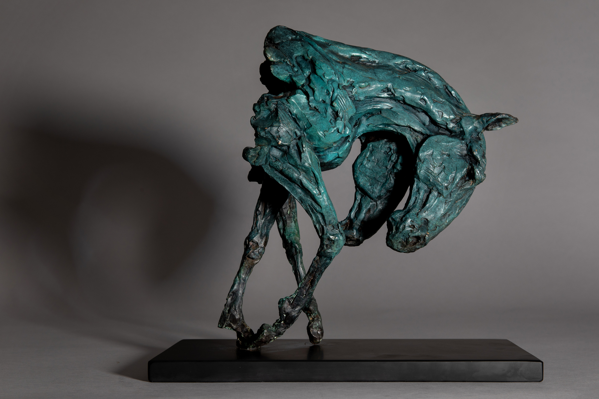 Anne Curry, The Keeper of the Place at  Muse. The Sculpture Company