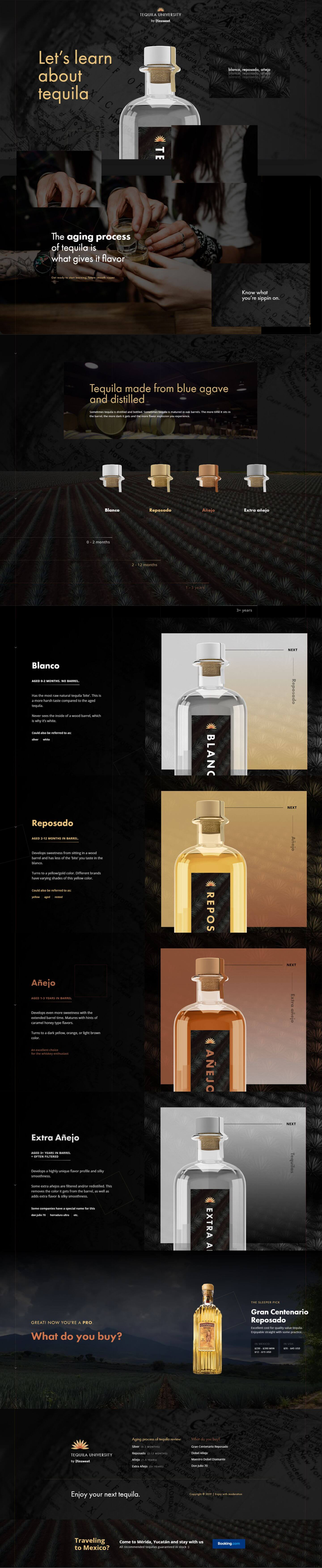 Finsweet Webflow development for Tequila University