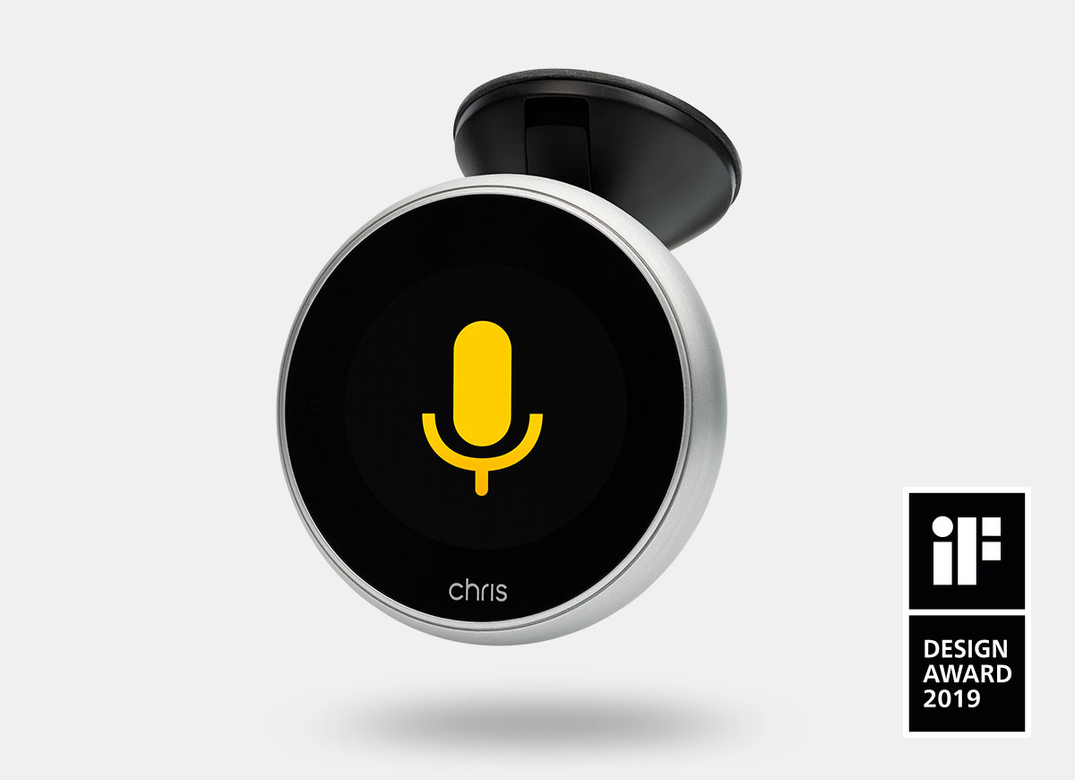 Chris, the first digital assistant for drivers
