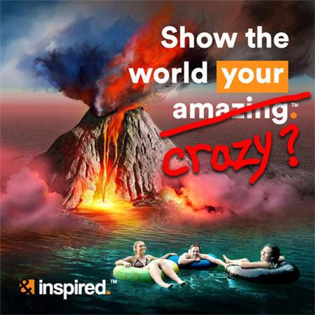 Show the world your crazy?...