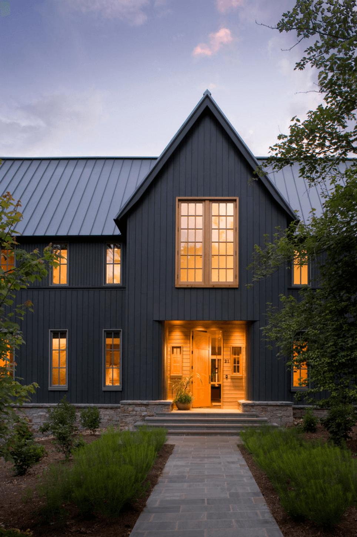 black home exterior brickandbatten