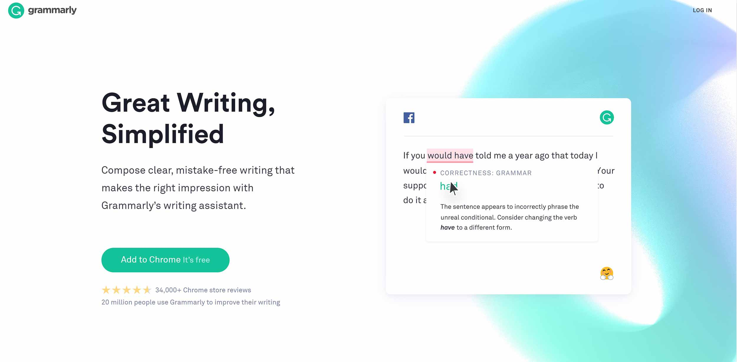Grammarly screenshot