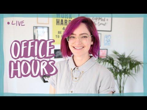 LIVE Office hours! Design career advice & portfolio reviews