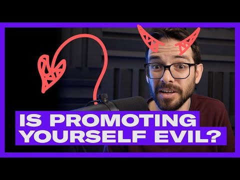 IS PROMOTING YOURSELF EVIL? Why Designers Need Marketing