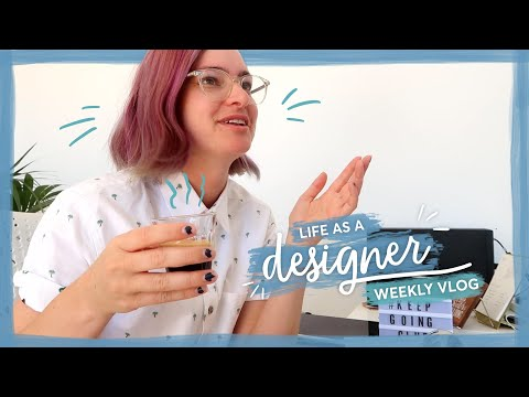 Finally finishing the homepage design! | Life as a designer vlog