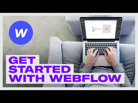 WEBFLOW FOR BEGINNERS 2020: The best web design software