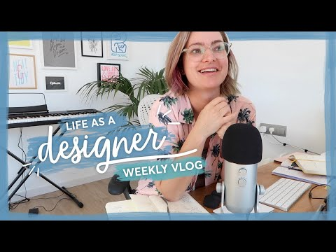 The new homepage is finished!! | Life as a designer vlog