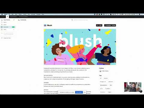 Creating a Landing Page Template in Figma (LIVE)