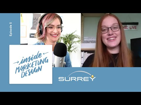 Designing for a SPACE company 🚀 - Inside Marketing Design at Surrey Satellite Technology - Episode 5