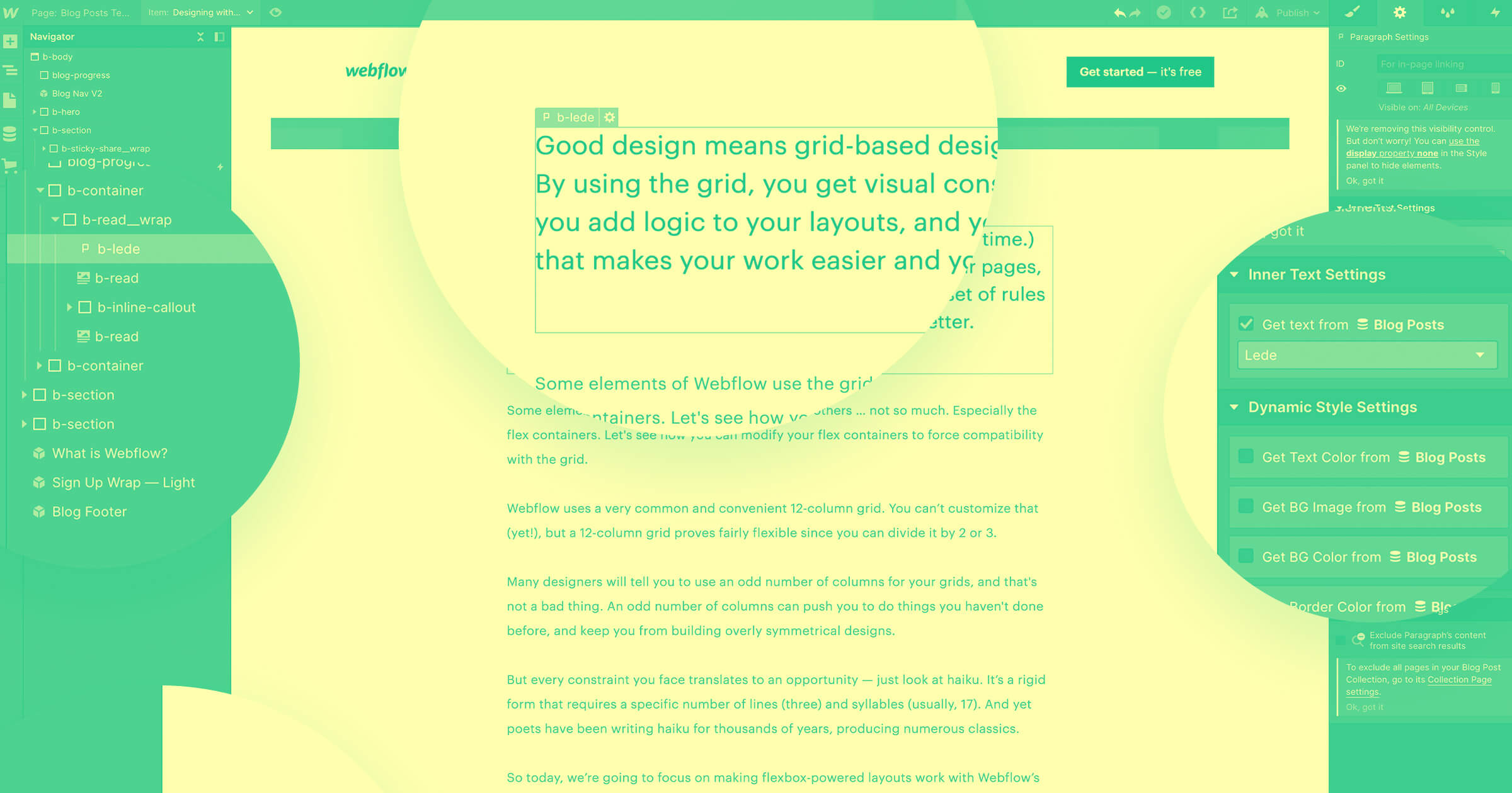 Webflow for blogging: 4 steps to getting started