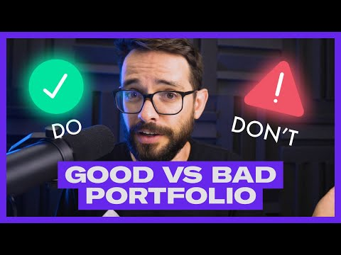 Good Portfolio VS Bad Portfolio