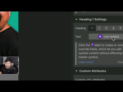 Using Webflow Symbol Overrides - Stream Clip