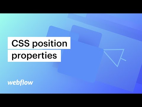 CSS position properties (relative, absolute, fixed, sticky, and floats) — Webflow tutorial
