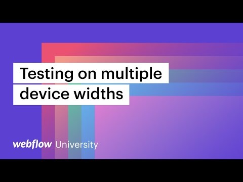 How to test responsiveness on iPhone 12 and other device widths