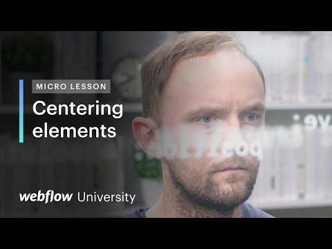 Micro Lesson #6 — Center HTML elements using flexbox