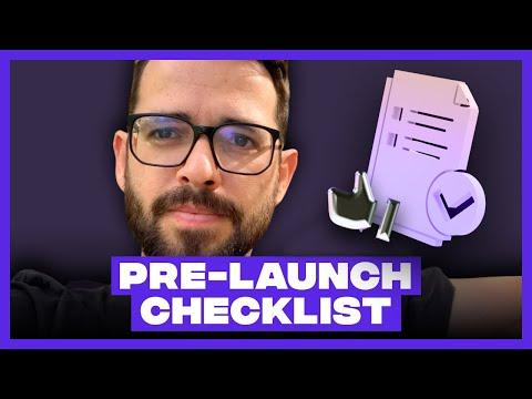 Full Website Pre-Launch Checklist (Webflow)
